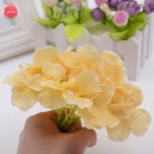 big silk artificial hydrangea flower for wedding valentine u0027s day