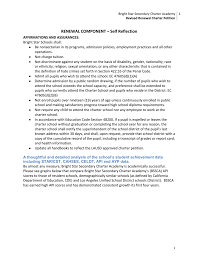 revised renewal charter petition