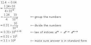 multiplying and dividing scientific notation worksheet dividing numbers in scientific notation with worked solutions