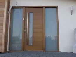 Designer Front Doors American Modern Villa Exterior Front Entrance Doors With Glass