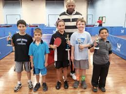 westchester table tennis center winter 2013 kids tournament results photos westchester table