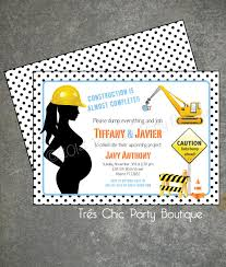 construction baby shower construction baby shower invitation by treschicparty on etsy