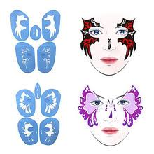 buy face painting stencils and get free shipping on aliexpress com