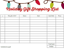 gift shopping list gift shop etsy