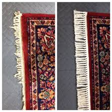 Oriental Rug Repair Before And After Eco Clean