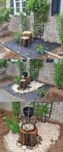 build a log or wood slice fountain for backyard amazing diy