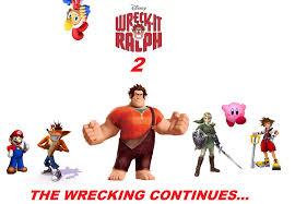wreck ralph 2 movie poster trc tooniversity deviantart