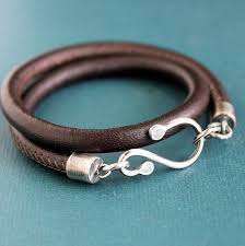 bracelet leather man silver images 63 best men 39 s leather jewelry designs images jpg
