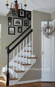 updating an entry with a fresh coat of grey paint foyer paint