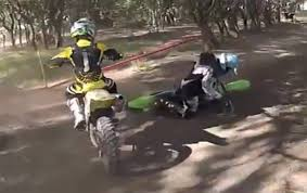 motocross racing bikes gopro hd first dirt bike race crashes youtube