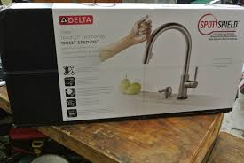 Touch2o Kitchen Faucet by New Delta Trask 19933t Spsd Dst Kitchen Pulldown Faucet W Touch2o