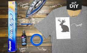 guy diy freezer paper stencil tee the glue string
