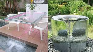 attractive outdoor water feature ideas outdoor water fountain