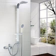 compare prices on bathroom rain shower white online shopping buy