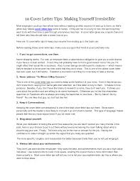 cover letter tips cover letter advice excellent academic safety advisor cover