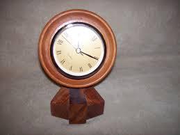desk clock w s woodmasters