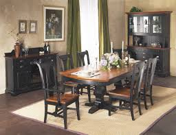 Bassett Outlet Puerto Rico by Riverside Rectangular Double Pedestal Dining Room Set By Cochrane