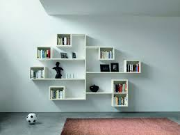 stairway wall mounted bookcase white wall mounted bookcase stylish decorating and floating shelves