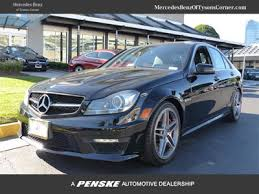 mercedes c class amg 2013 2013 used mercedes c class 4dr sedan c63 amg rwd for sale in
