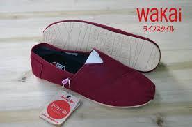 jual sepatu wakai casual original 51 bandung footwear