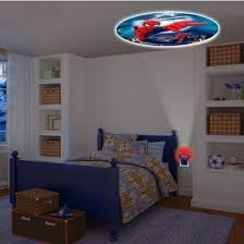 Ceiling Lamp Plug In by Spider Man Kids Bedroom Led Plug In Night Light Projectable Decor