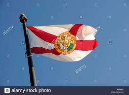 Florida Flag History State Of Florida Flag With Seal That States Great Seal Of The