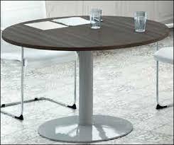 table ronde cuisine pied central table de cuisine ronde en verre pied central maison design