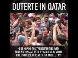 Welcome Home Meme - welcome home to qatar president duterte your kabayan are waiting