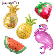 s day decor enlife 1pcs flamingo pineapple fruits aluminum balloon children