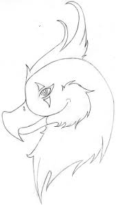 how to draw a cute bird step 3