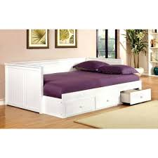 Daybed With Trundle And Mattress Included Size Daybed With Storage Uk That Converts To Futon White