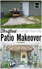 Patio Backyard Ideas Best 25 Patio Makeover Ideas On Pinterest Outside Patio