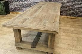 Rustic Oak Dining Tables Oak Dining Table Reclaimed Oak Dining Table Kitchen Rustic Oak