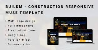 buildm construction responsive muse template by awesomethemez
