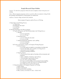 how to write a college paper outline 8 research paper outline example nurse resumed research paper outline example essay format paper college png