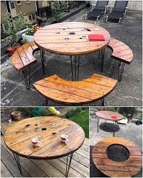 Patio Furniture Pallets by Creative Creations With Recycled Wood Pallets Wood Pallet Furniture
