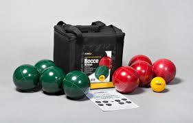 stpierresports professional bocce set u0026 reviews wayfair