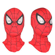 cosplay children spiderman mask spider man gloves