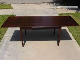 stunning mid century modern expandable dining table with room