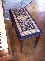 Piano Bench Cushion Pattern Needlepoint Seat Covers Creative Custom Designs For Your Home