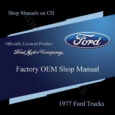 factory ford oem shop manual on cd toms bronco parts