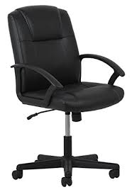 Computer Chair Essentials Leather Executive Office Computer Chair With