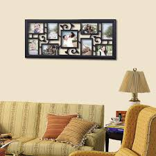 Picture Wall Collage by Adeco Decorative Black Plastic Filigree Wall Hanging Collage
