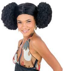 afro poof wig halloween costumes u0026 60s 70s costumes