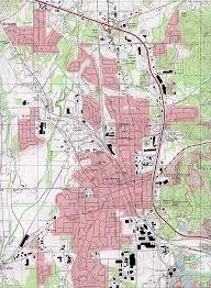Valdosta Map Reisenett Georgia Maps