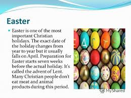 презентация на тему easter easter is one of the most important