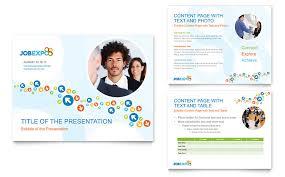 job expo u0026 career fair powerpoint presentation powerpoint template