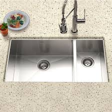 30 inch undermount double kitchen sink kitchen sinks contempo stainless steel zero radius 70 30 double