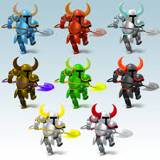 shovel knight color swaps by that one leo on deviantart