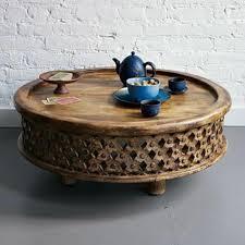 table basse touret bois table basse en bois orientale u2013 ezooq com